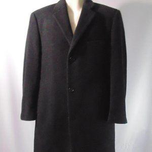 Lauren Ralph Lauren men's Black Overcoat 40S